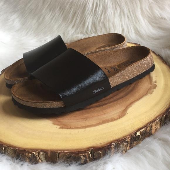 95ec8398f99e Birkenstock Shoes - Birkenstock Betula soft footbed leather slides